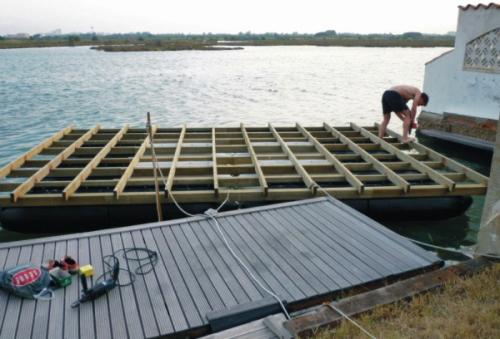 for Construire une maison flottante